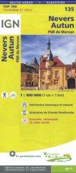 La couverture et les autres extraits de Bourgogne. 1/200 000, indéchirable, Edition 2020