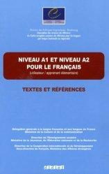 Niveau A1 et niveau A2 pour le français (utilisateur/apprenant élémentaire)