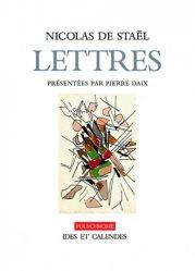 Nicolas de Staël. Lettres et dessins