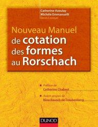 Nouveau manuel de cotation des formes du Rorschach
