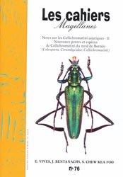 Notes sur les Callichromatini Asiatiques II
