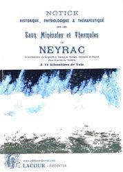 Notice historique, physiologique et thérapeutique sur les eaux minérales et thermales de Neyrac