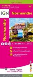 La couverture et les autres extraits de Normandie. 1/200 000, indéchirable, Edition 2020