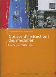 Notices d'instructions des machines