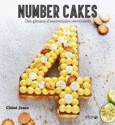 Number cakes. Des gâteaux d'anniversaire renversants