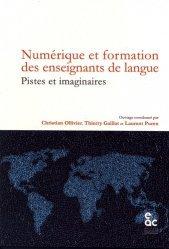 Numérique et formation des enseignants de langue