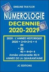 Numérologie décennie 2020-2029