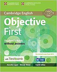 Objective First - Student's Book without Answers with CD-ROM with Testbank