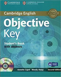 Objective Key - Student's Book with Answers with CD-ROM