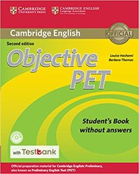 Objective PET - Student's Book without Answers with CD-ROM with Testbank