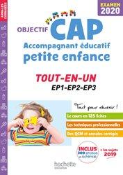 La couverture et les autres extraits de Objectif CAP Accompagnant Educatif Petite Enfance - épreuve professionnelle