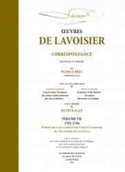Oeuvres de Lavoisier Tome 7