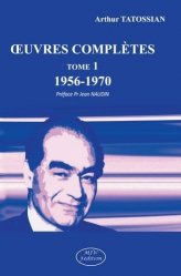 Oeuvres complètes (1956-1970). Tome 1, 1956-1970