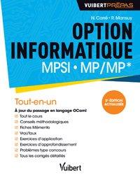 Option informatique MPSI - MP/MP*
