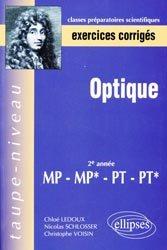 Optique 2ème année MP MP* PT PT*