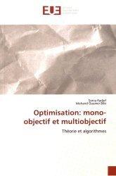 Optimisation : mono-objectif et multiobjectif