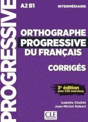 Orthographe progressive du français intermédiaire A2 B1