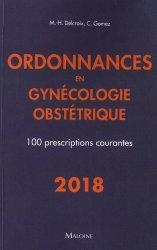 Ordonnances en gynécologie obstétrique
