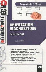 Orientation Diagnostique
