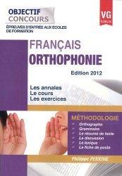 Orthophonie 2012