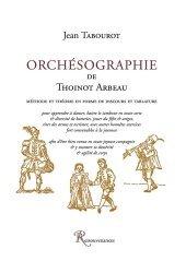 Orchésographie de Thoinot Arbeau