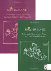 Pack Shiatsu santé 2 tomes Théories fondamentales