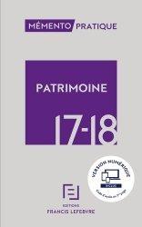 Patrimoine. Edition 2017-2018