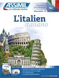 Pack CD - L'italien - Italiano - Débutants et Faux -débutants