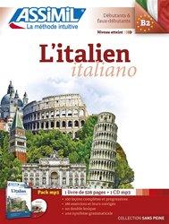 Pack MP3 - L'italien - Italiano - Débutants et Faux -débutants