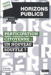 Participation citoyenne : un nouveau souffle ?