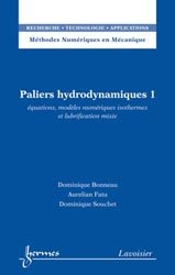 Paliers hydrodynamiques Tome 1