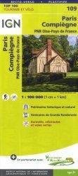 La couverture et les autres extraits de Ile-de-France. 1/200 000, indéchirable, Edition 2020