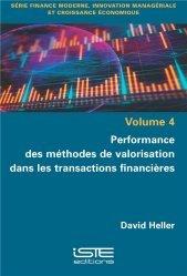 Performance des méthodes de valorisation dans les transactions financières