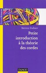 Petite introduction à la théorie des cordes