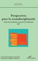 Perspectives pour la transdisciplinarité