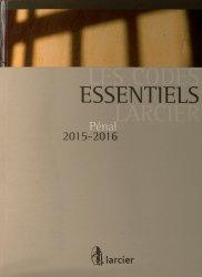 Pénal. Edition 2015-2016