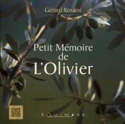 Petit mémoire de l'olivier