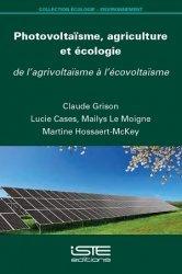 Photovoltaïsme, agriculture et écologie