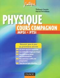 Physique cours compagnon MPSI - PTSI