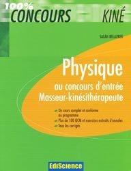 Physique au concours d'entrée Masseur-kinésithérapie
