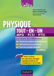 Physique tout-en-un 1e année MPCI-PCSI-PTSI