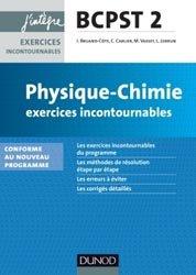 Physique-Chimie Exercices incontournables BCPST 2e année