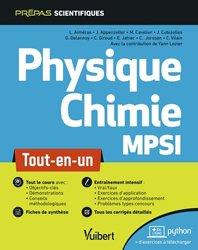 La couverture et les autres extraits de Chimie MPSI PTSI