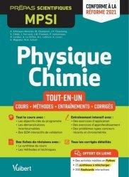 A paraitre dans Mathématiques-Université-Examens, Physique-Chimie MPSI - Tout-en-un