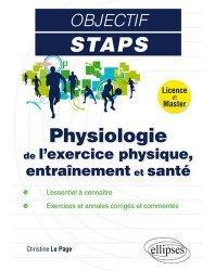 La couverture et les autres extraits de Physiologie de l'exercice physique, entraînement et santé