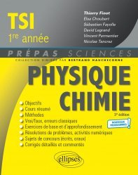 Physique-Chimie TSI 1re année