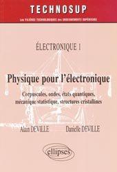 Physique pour l'électronique