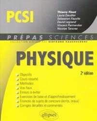 La couverture et les autres extraits de Physique Chimie MPSI
