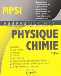 La couverture et les autres extraits de Physique PCSI