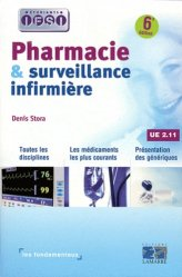 Pharmacie et surveillance infirmière UE 2.11